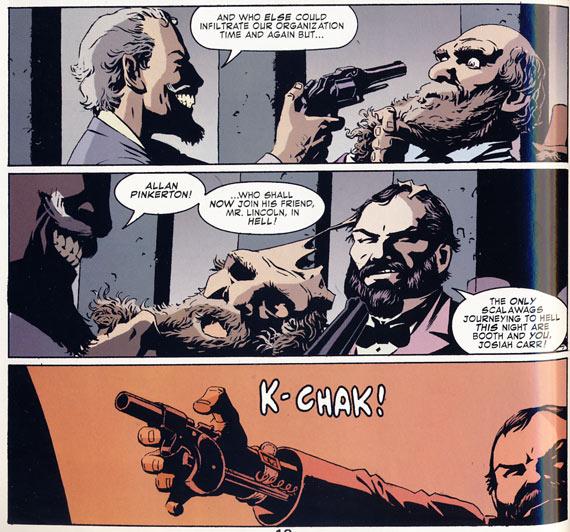 Allan Pinkerton in 'Detective No. 27'