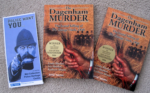 Copies of The Dagenham Murder, plus brochure